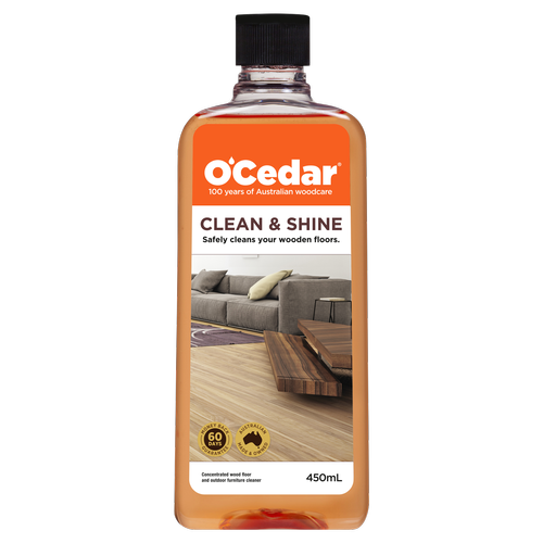 OCedar 450ml Clean And Shine Timber Floor Cleaner