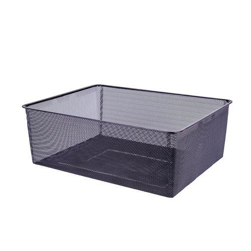 Flexi Storage Home Solution 185mm Black 2 Runner Mesh Basket