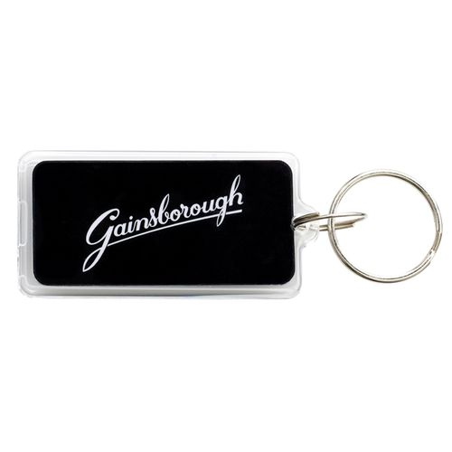 Gainsborough Black Digital Entry Tag