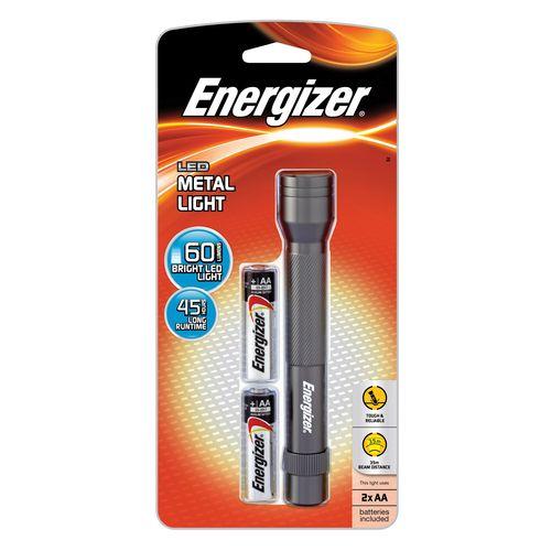 Energizer Metal LED 2AA Torch
