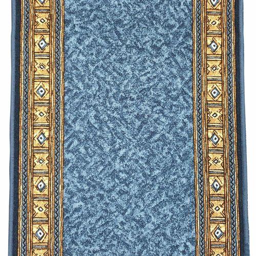 Ideal 67cm Epos Blue Print Bermudes Carpet Runner