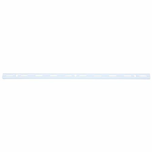 Flexi Storage 500mm White Single Slot Wall Strip