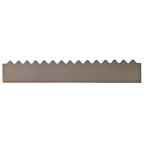 GumLeaf 1200mm Colorbond Metal Corrugated Gutter Guard - Gully