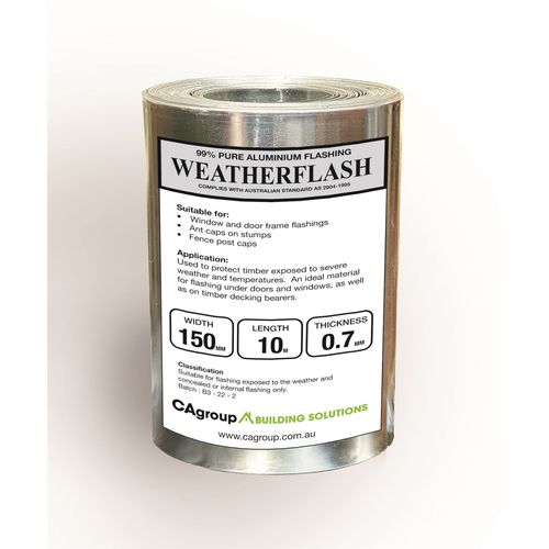 Consolidated Alloys 150 x 0.7mm x 10m Weatherflash