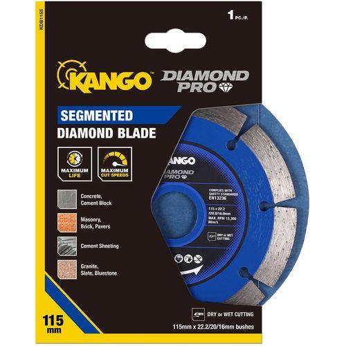 Kango 115mm Segmented Diamond Blade