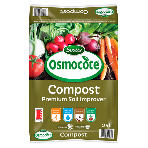 Scotts Osmocote 25L Compost Premium Soil Improver