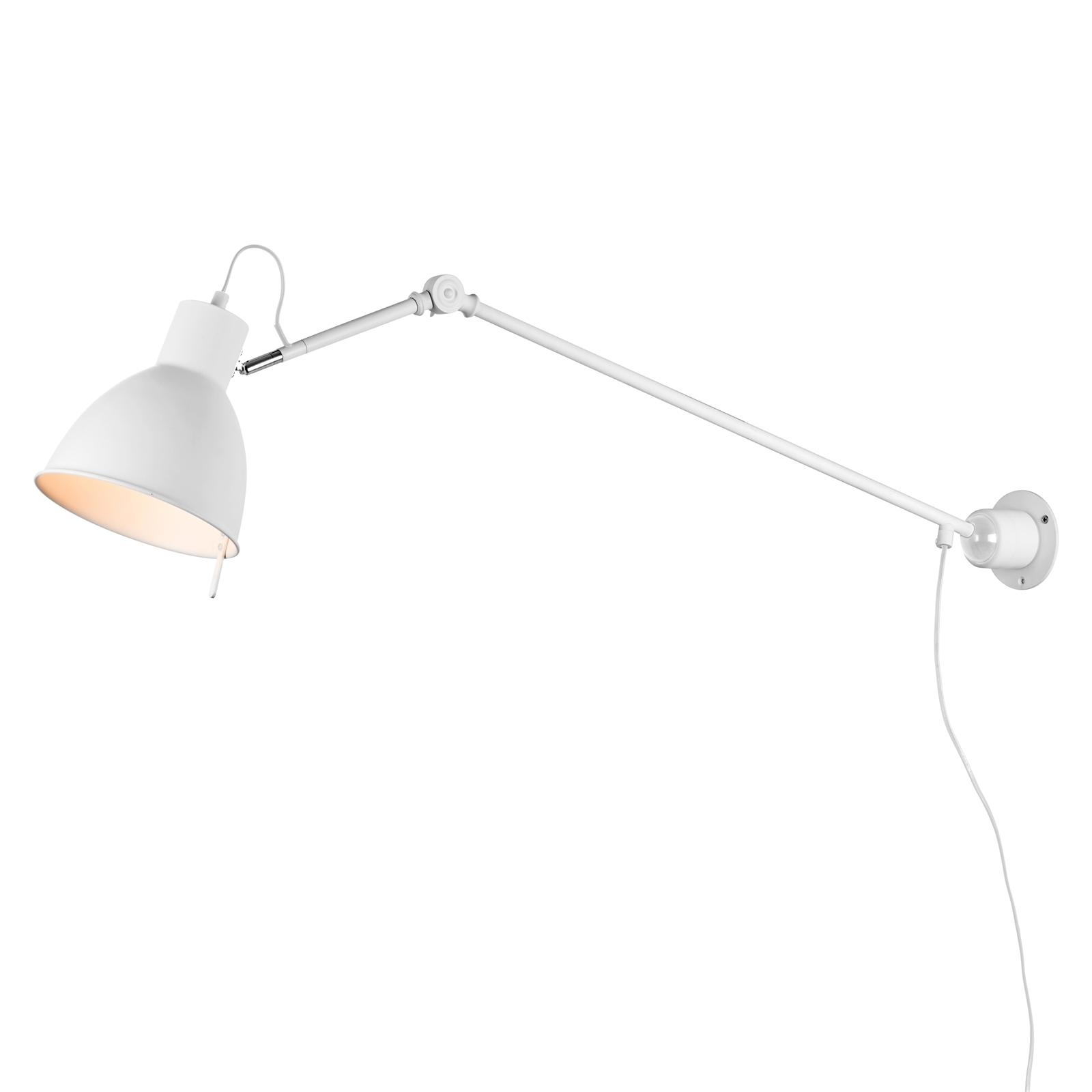 Verve Design White Harper DIY Wall Light With Long Arm