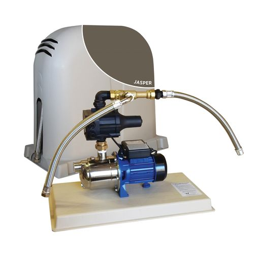 REEFE Jasper Rain To Mains System - With Pressure Pump, Poly Cover And Base