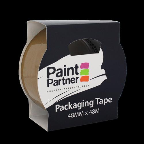 Paint Partner 48mm x 48m Brown Packaging Tape