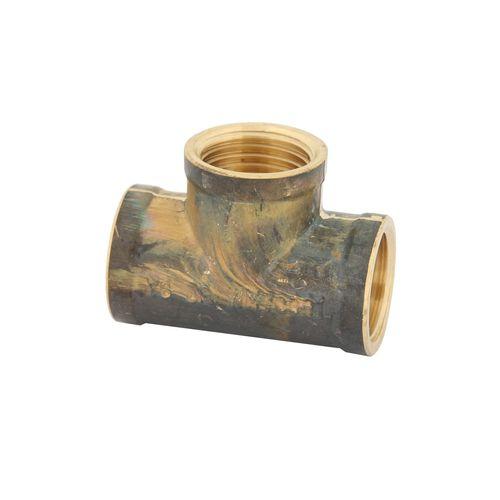 Kinetic 15mm Brass Threaded Tee