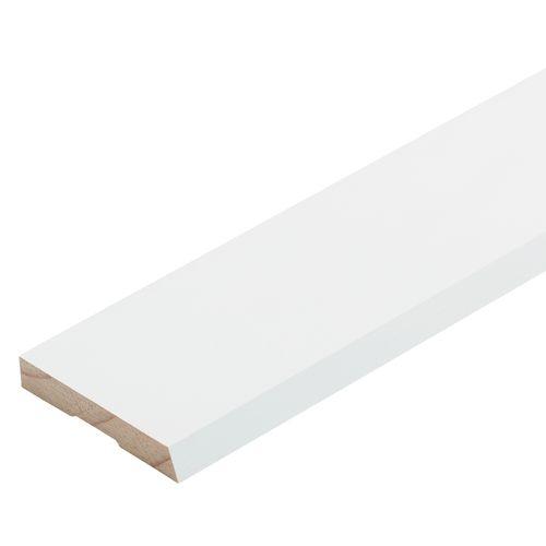 Pinetrim Plus 60 x 10mm 5.4m Primed FJ Single Bevel Architrave