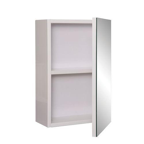 Stein 300 x 450mm White Vida Bathroom Mirror Cabinet