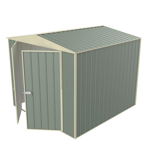 Build-a-Shed  2.3 x 2.3 x 2.3m Gable No Side Doors Shed - Green
