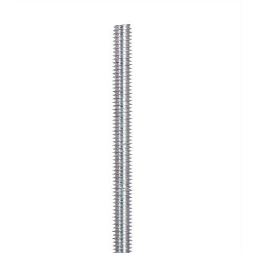 Oxbuild M8 x 1m Zinc Plated Threaded Rod