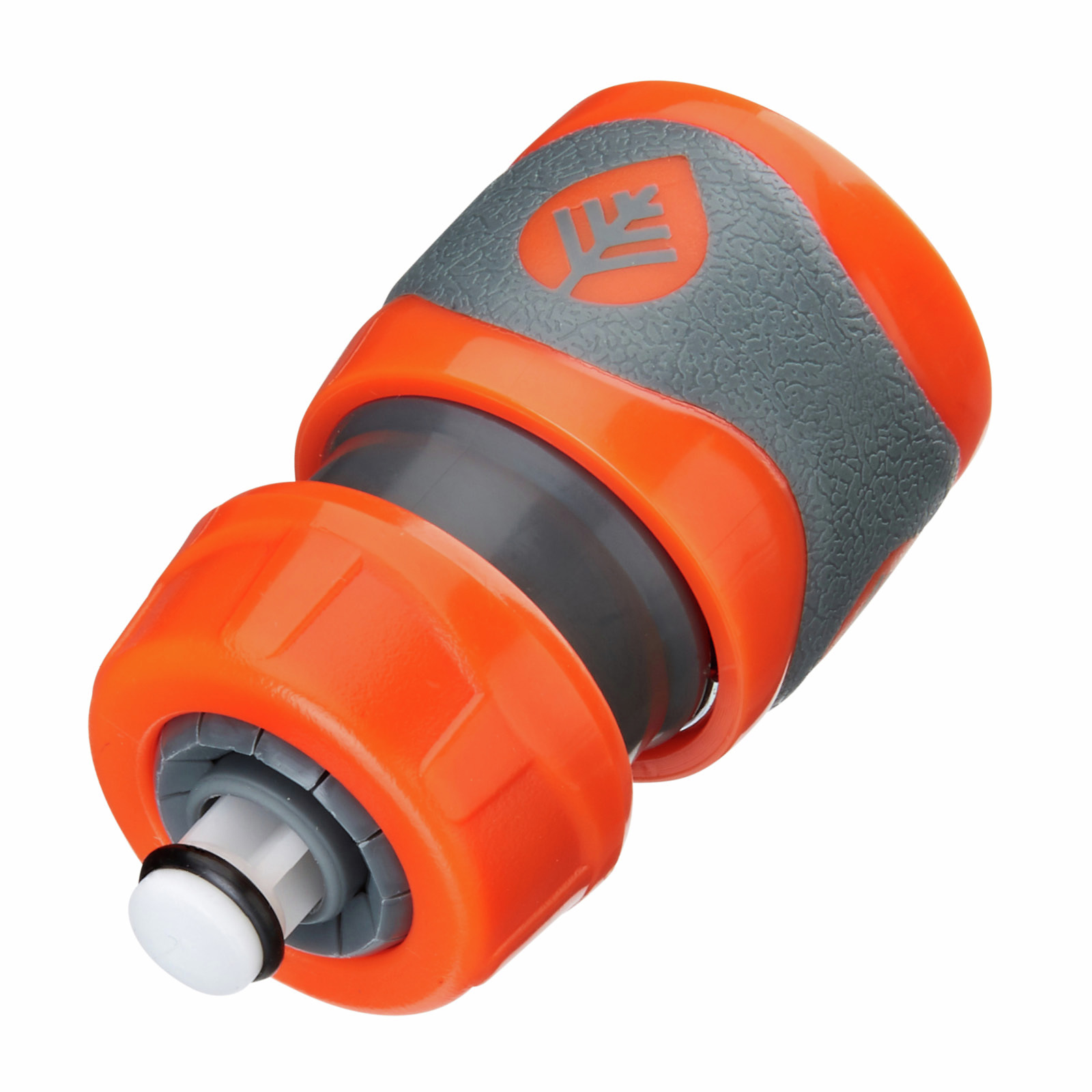 Pope 12mm Comfort Grip Hose Connector With Stop Valve