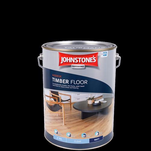 Johnstone's 10L Clear Matt Interior Timber Floor Finish