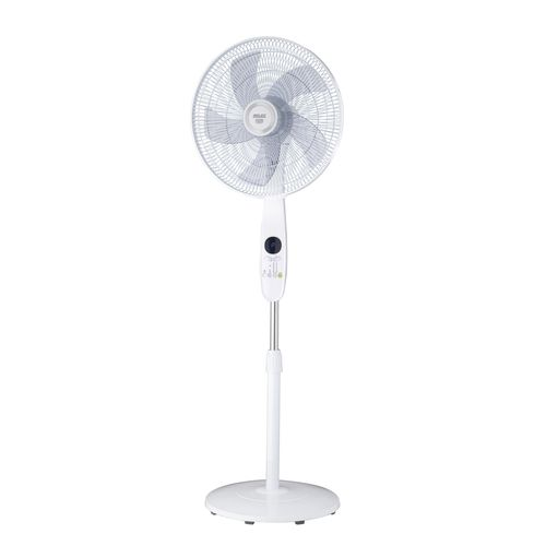 Arlec 40cm White Smart Pedestal Fan With Grid Connect