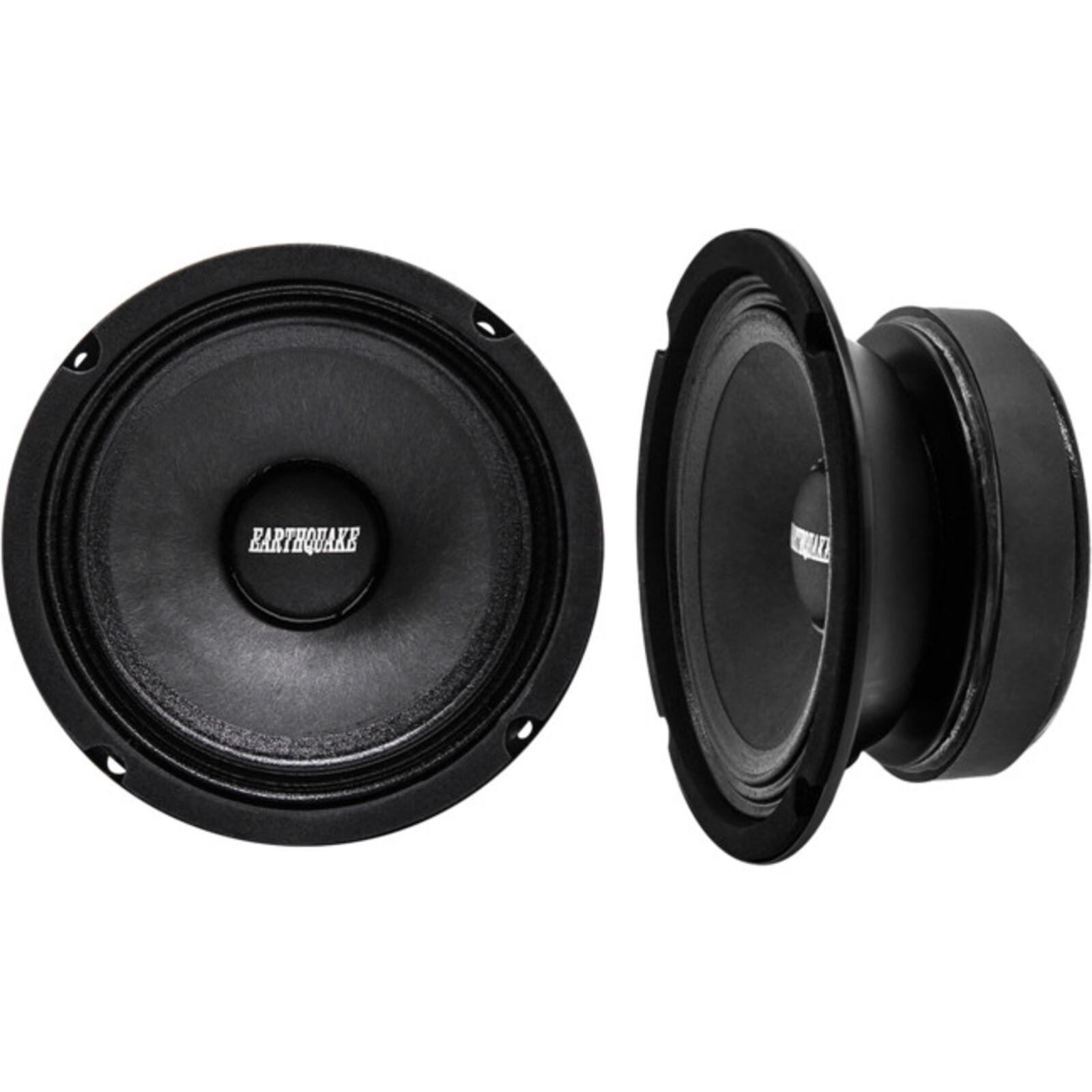 "Earthquake 5.25"" Cloth Speaker Eq5s8 150 Watts Max 5.25"" Cloth Speaker Eq5s8 Midbass 65W 8Ohm Sealed Basket 150 Watts Max Eq5-S8"
