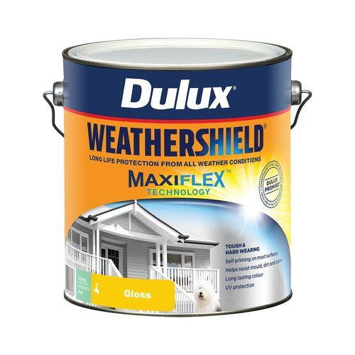 Dulux 4L Exterior Paint Weathershield Gloss Deep