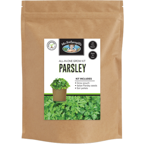 Mr Fothergill's Parsley Grow Pouch Bag