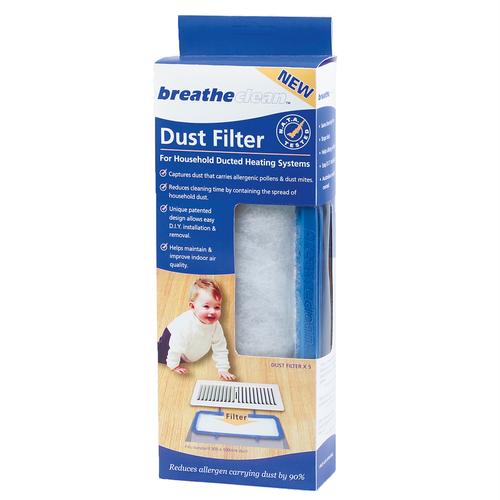 Breatheclean Floor Dust Filter - 5 Pack