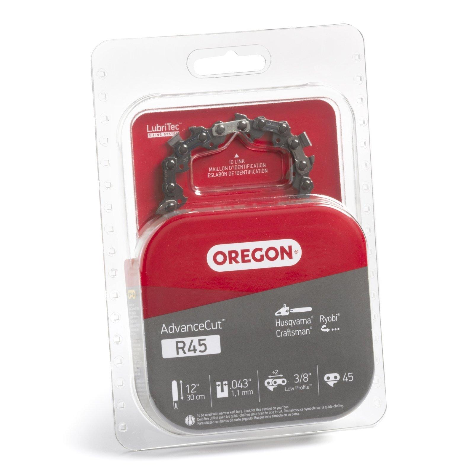 "Oregon 12"" x 3/8"" x 043"" Low Profile R45 Chainsaw Chain"