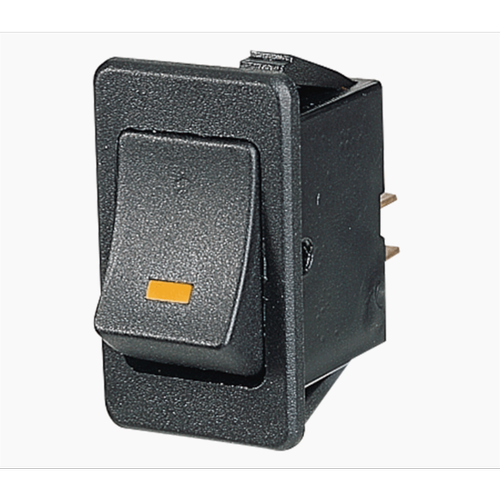 Narva 30A Rocker Switch With Amber LED