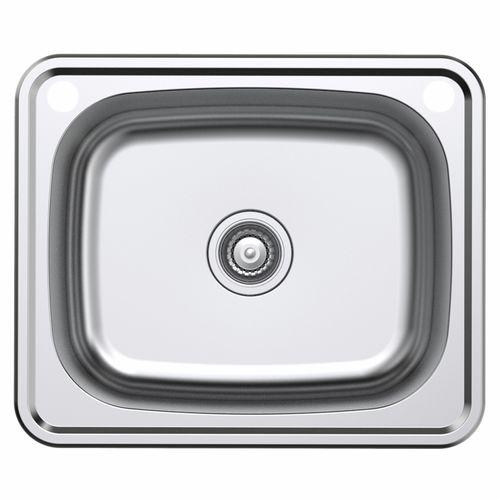 Estilo 610 x 510 x 250mm Stainless Steel Inset Laundry Sink