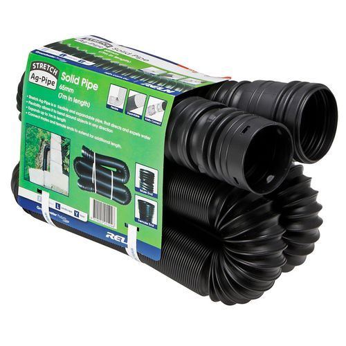 Reln 65mm x 7m Solid Stretch Ag-Pipe