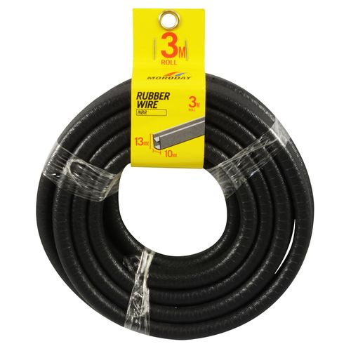 Moroday 10mm x 13mm x 3m Rubber and Wire