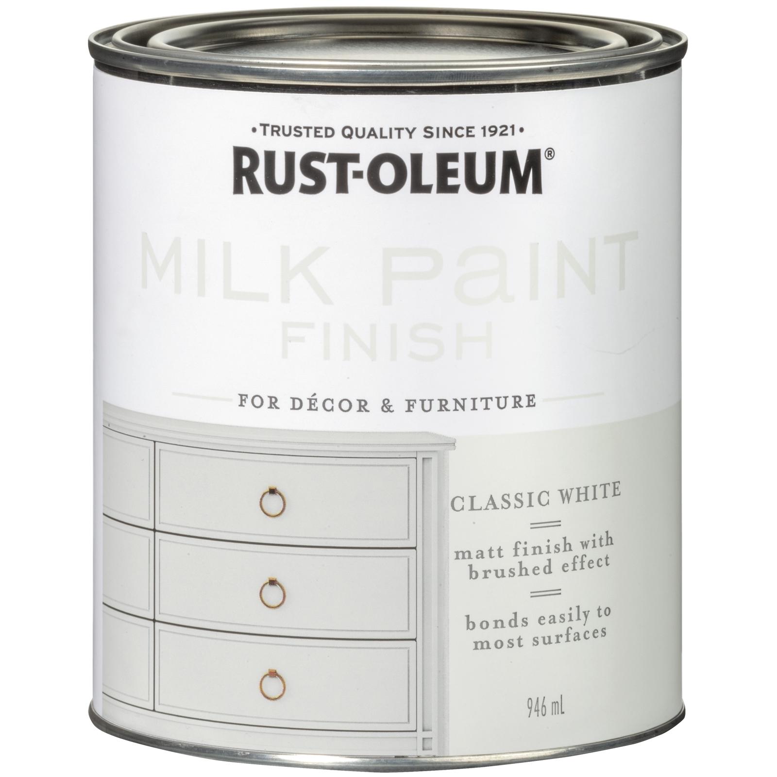 Rust-Oleum 946ml Milk Paint Finish