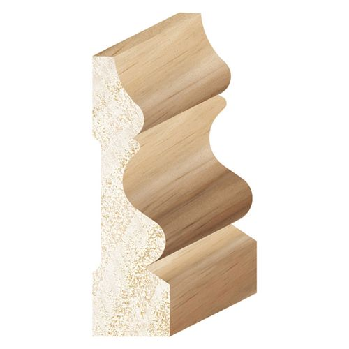Porta 65 x 18mm 3.0m Clear Colonial Pine Moulding
