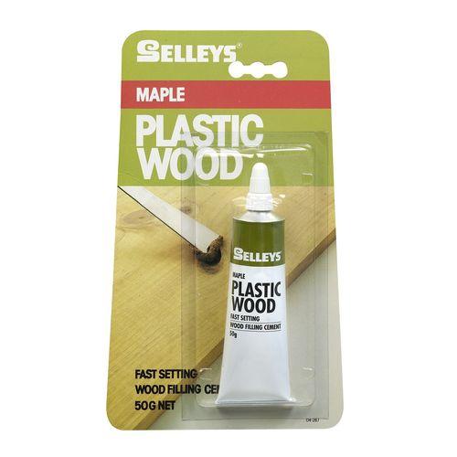 Selleys 50g Maple Plastic Wood