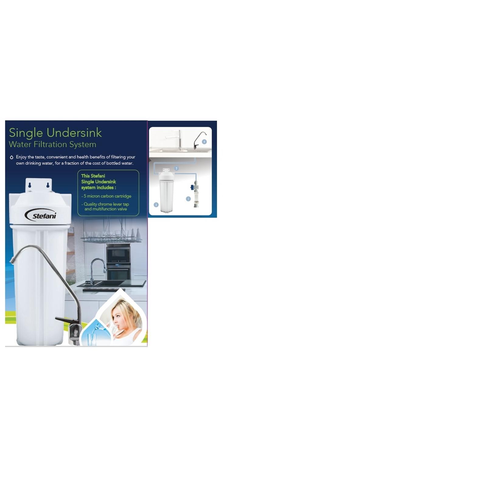 Stefani Single Undercounter Water Filter System