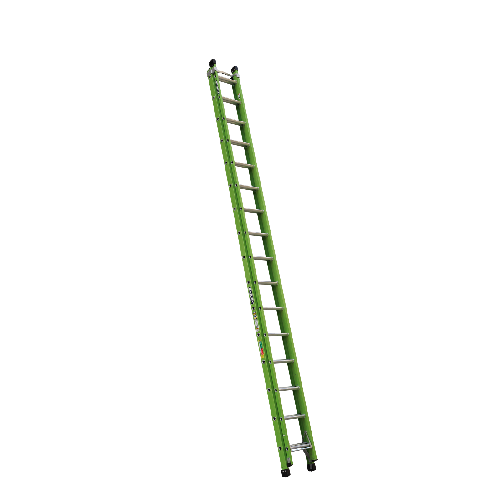 Bailey 5.0-9.0m 140kg Industrial Rated Pro 16 Rung Fibreglass Extension Ladder