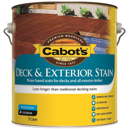 Cabot's 5L Kwila Water Based Deck and Exterior Stain
