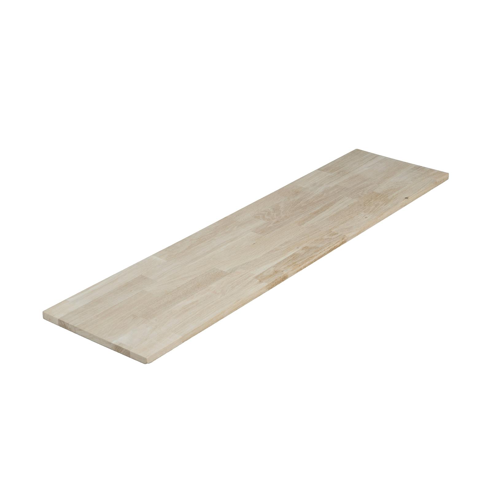 1200 x 300 x 18mm Finger Jointed Oak Panel