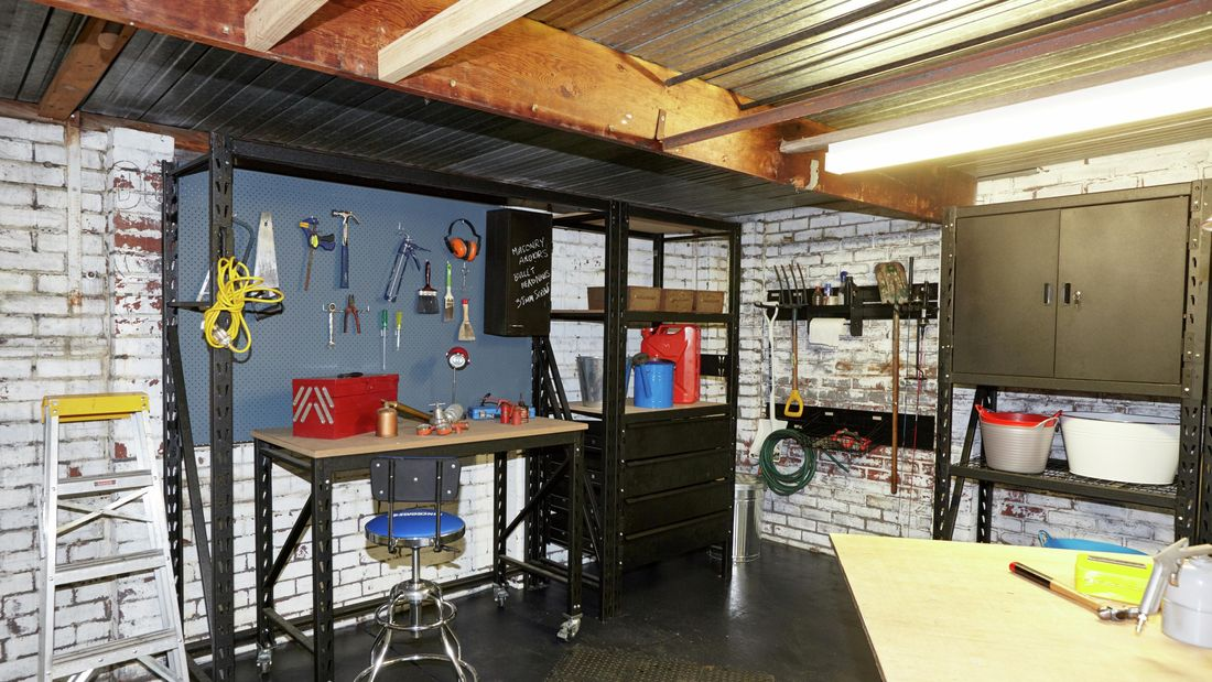 DIY Step Image - How to turn and convert your garage into a workshop . Blob storage upload.