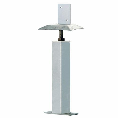 Uni-Pier 75 x 75x 2600mm Post With Adjustable Screw Top Head