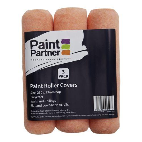 Paint Partner Roller Sleeves 230mm 3pk