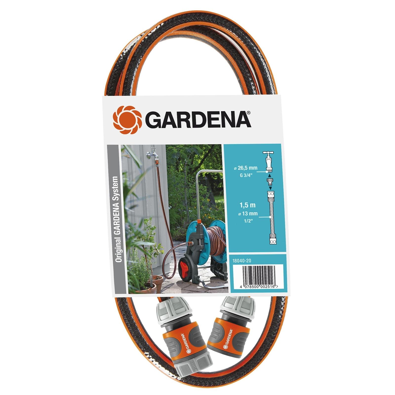GARDENA 1.5m Tap To Reel Connection Set