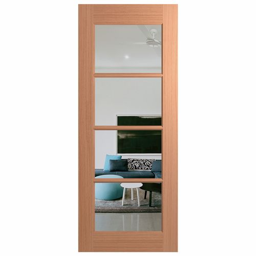 Hume Doors & Timber Joinery Clear Glass External Door - 720mm x 2040mm x 40mm