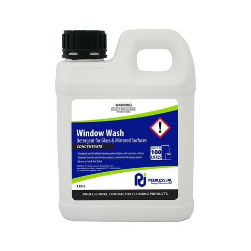 Peerless JAL 1L Window Wash Concentrated Glass Wash