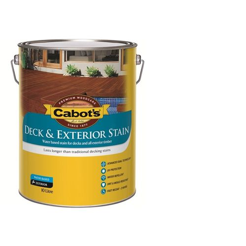 Cabot's 10L Kwila Water Based Deck and Exterior Stain