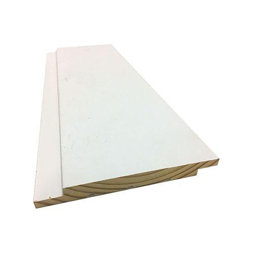 TruChoice 133 x 13mm Cover 114mm White Primed FJ Pine Shiplap Lining Board - 2400mm