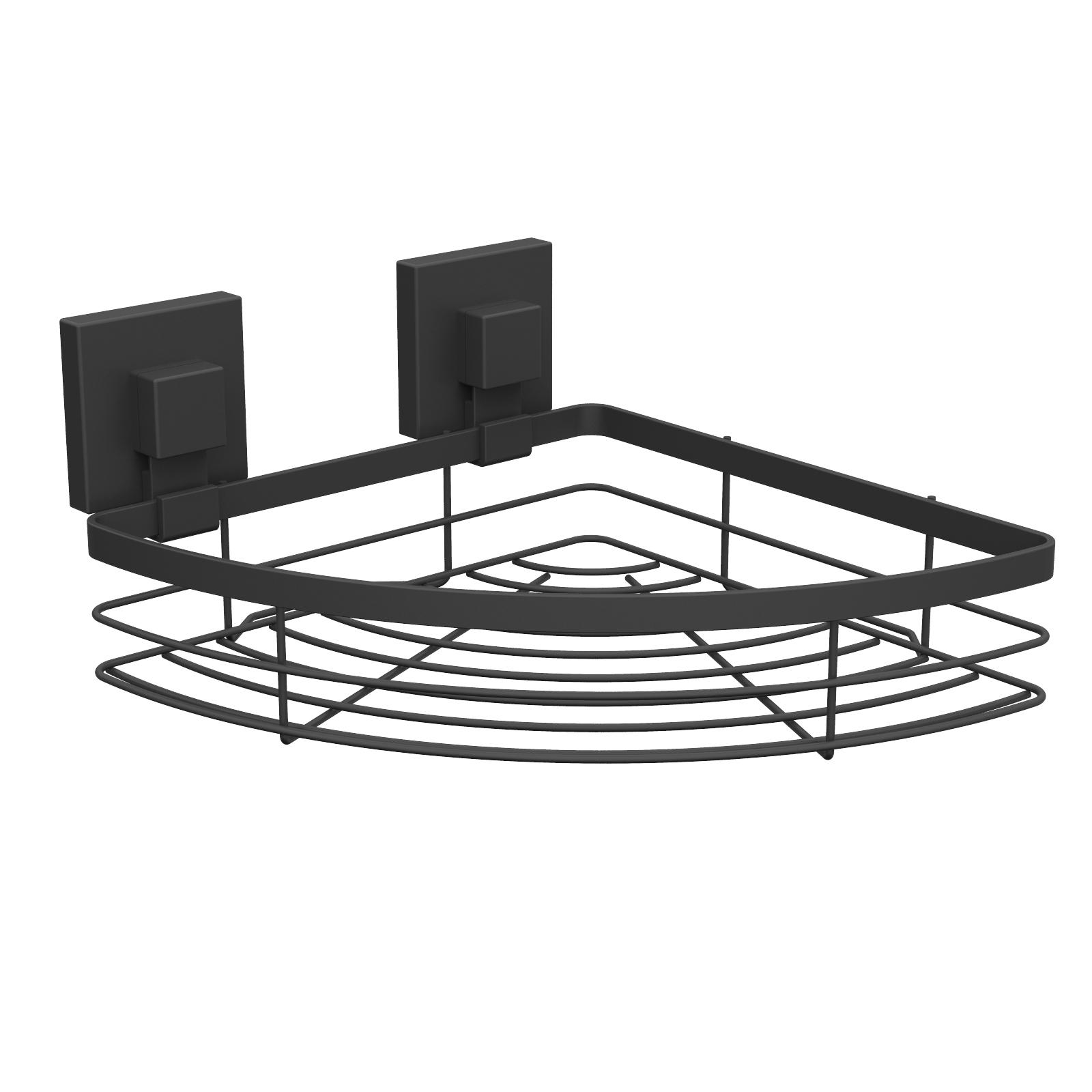 Fusion-Loc 26kg Suction Bathroom Corner Shelf