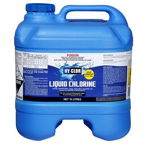 Hy-Clor 15L Liquid Chlorine Exchange