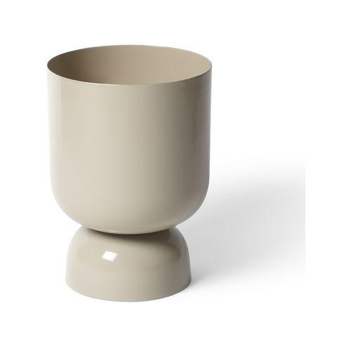 Lightly 150 x 215mm Dune Goblet Metal Pot
