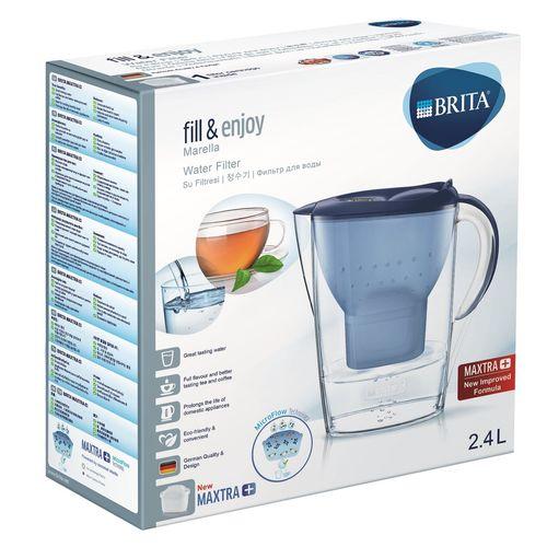 Brita 2.4l Marella Blue Filter Jug