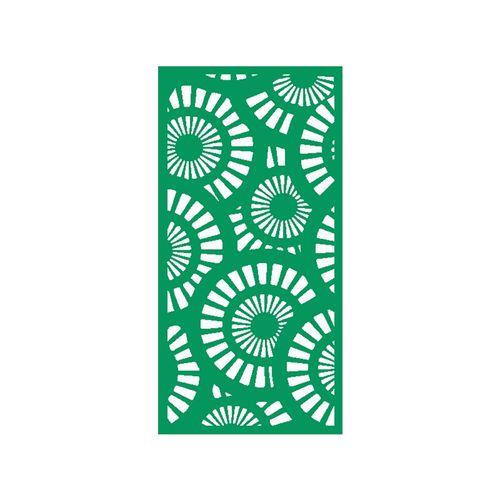 1200 x 2400mm ACP Profile 25 Decorative Panel Unframed - Light Green
